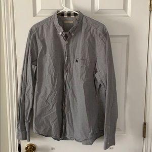 Burberry Long Sleeve Button down shirt